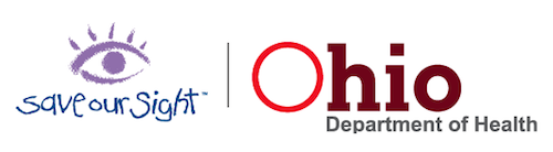 Save Our Sight - Ohio Department of Health logo
