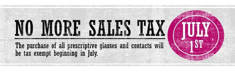 Sales Tax Repeal - July 1 2019